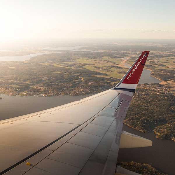 norwegian airlines lavpriskalender